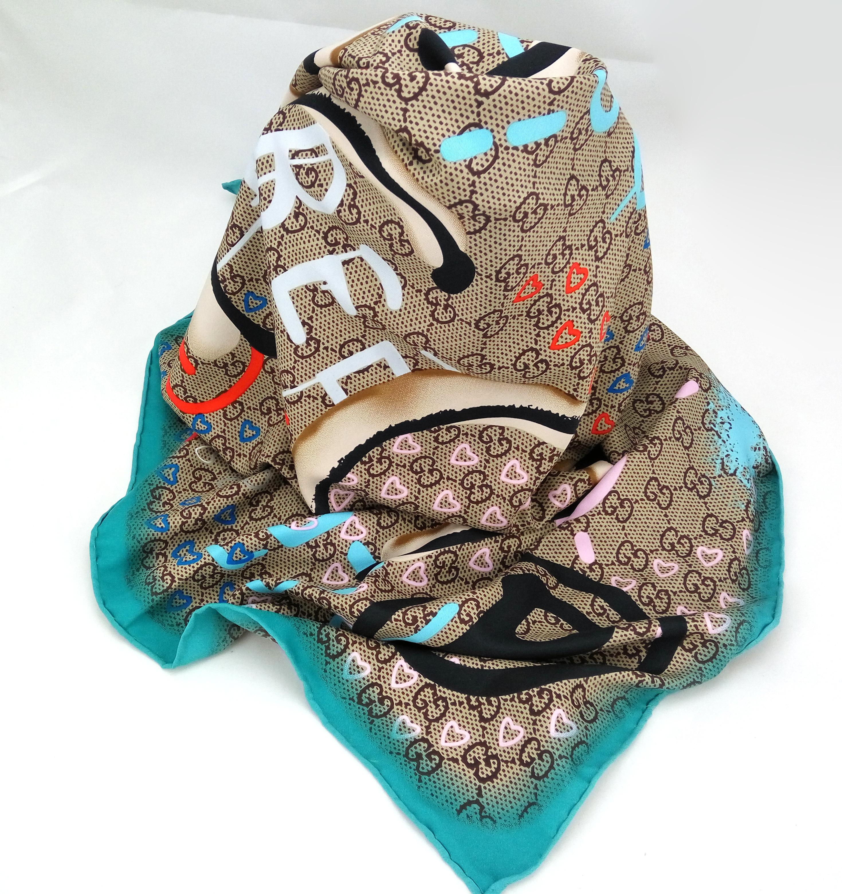 fdd101f9ca0f Silk Shawl Wrap Inspired Women Gift Scarves