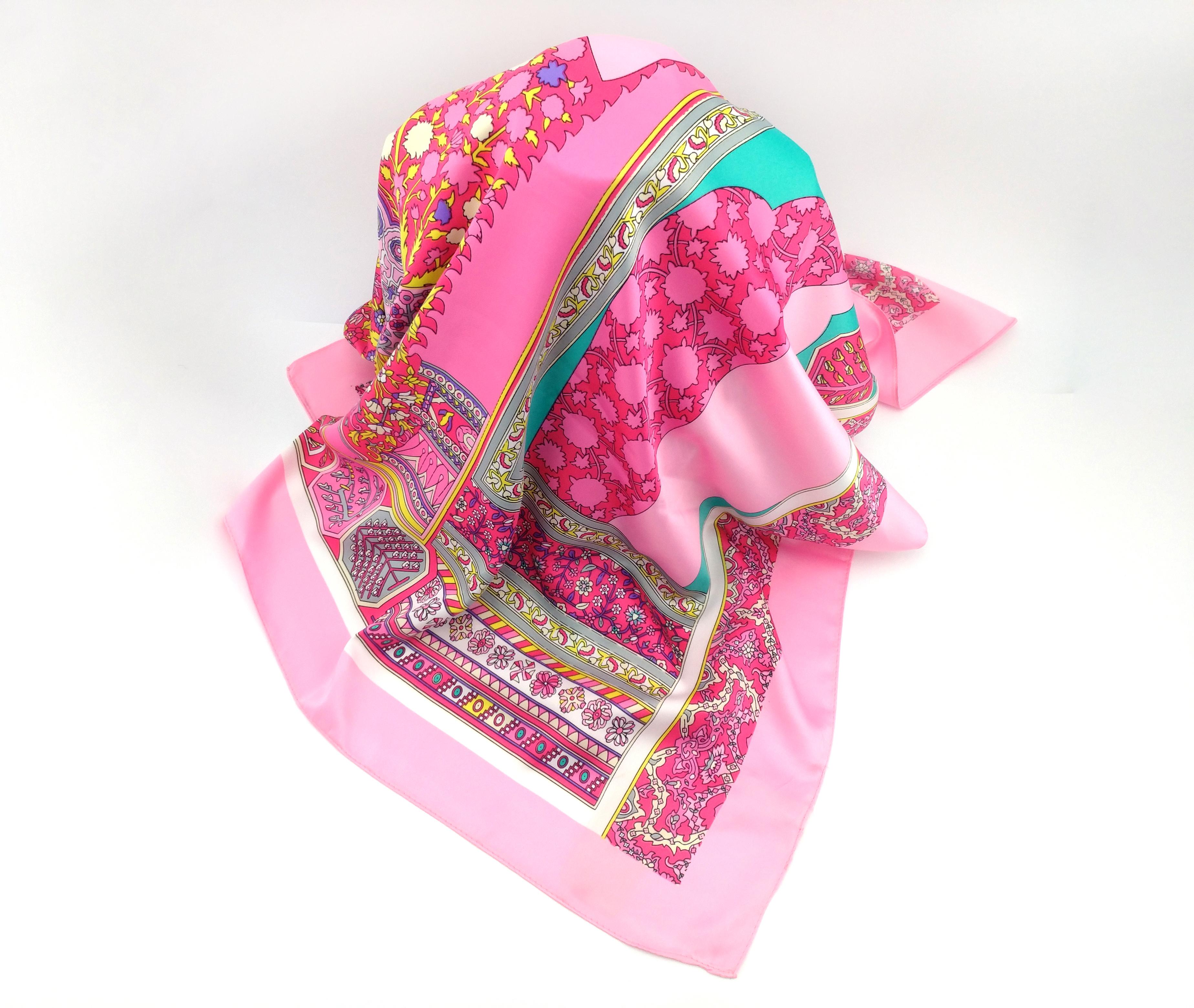 86fe4ac646a7 Silk Summer Shawl Wrap Inspired Women Gift Scarves