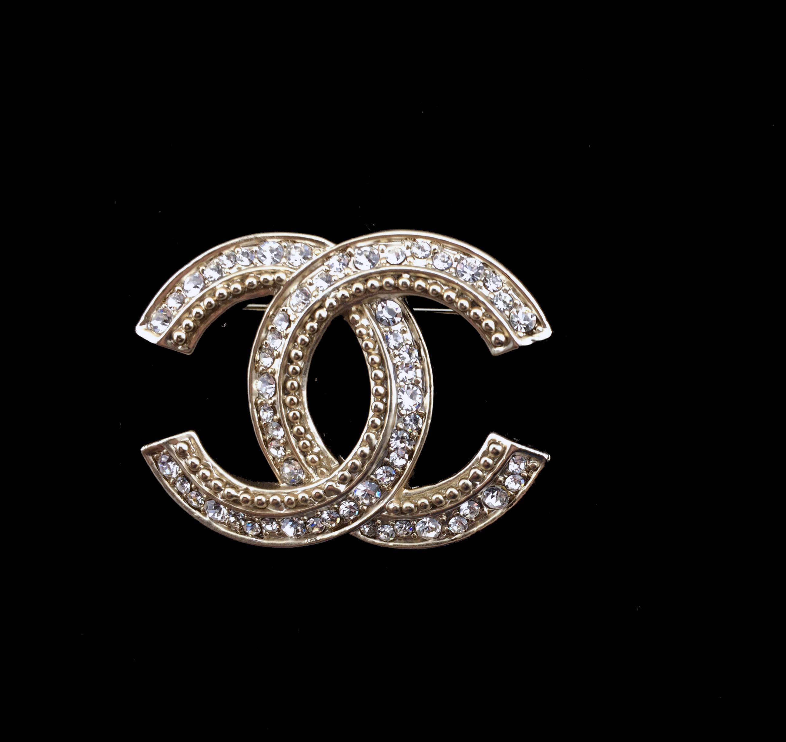 e8686b1b162 Gold Rhinestone Brooch Inspired